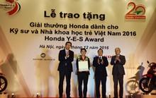 HVN trao tặng Giải thưởng Honda Y-E-S 2016