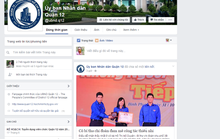 Quận 12 nhận tin nóng qua facebook