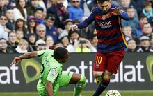Messi hụt phạt đền, Barcelona thắng tưng bừng ở Nou Camp
