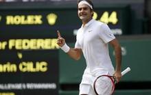 Murray thắng khó Tsonga, Federer nghẹt thở vào bán kết