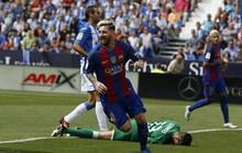 """Cuồng phong"" Barcelona cuốn phăng Leganes"