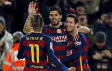 Messi, Suarez ghi 7 bàn, Barcelona vùi dập Valencia