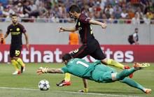 Aguero ghi 3 bàn nhưng đá hỏng 2 quả 11 m