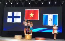 Thể dục dụng cụ giành 2 HCV thế giới ở Hungary