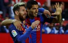 "Barcelona ""vượt ải"" Sevilla, áp sát ngôi đầu Real Madrid"