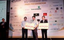 Giải Golf Saigontourist 2016: Quyên góp 800 triệu đồng từ thiện