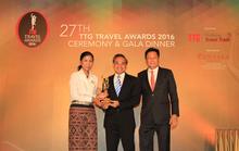 Vietravel lần thứ 5 nhận giải thưởng TTG Travel Awards