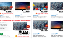 Smart TV đồng loạt giảm giá, TV 4K ngày càng rẻ
