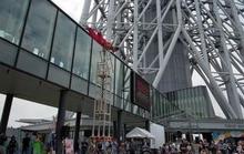 Tháp truyền hình cao nhất thế giới chật vật thu hút du khách