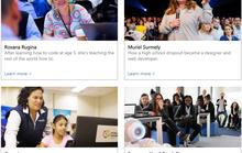 Microsoft giúp nữ giới tiếp cận khoa học máy tính