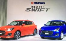 Suzuki Swift thế hệ mới có giá từ 260 triệu đồng