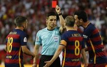 Mascherano bị đuổi, Barca thắng nghẹt thở Sevilla