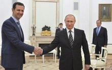 Tổng thống Nga chúc mừng ông Assad
