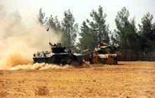 Xe tăng Thổ Nhĩ Kỳ ồ ạt vượt qua biên giới Syria
