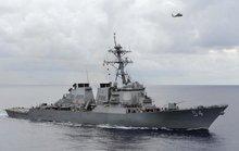 Trung Quốc phản ứng việc tàu Mỹ đi quanh đảo Tri Tôn