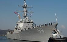 Tàu chiến tên lửa của Mỹ đến Cam Ranh