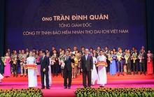 """Tổng giám đốc Dai-ichi Life Việt Nam vào """"Top 100 Doanh nhân Việt Nam tiêu biểu 2016"""""""