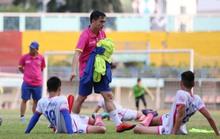 CLB Sài Gòn làm quen sân tập mới