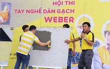 Cuộc thi tay nghề dán gạch đầu tiên  và quy mô tại Việt Nam