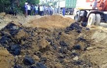 Mẫu bùn thải chôn lấp trái phép từ Formosa chứa xyanua