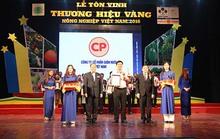 C.P Việt Nam đạt thương hiệu vàng nông nghiệp