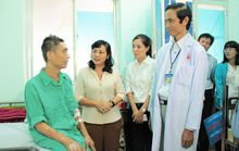 Tiếp sức công nhân bị bệnh tim