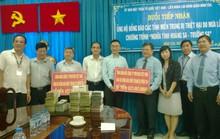 Hơn 1 tỉ đồng ủng hộ đồng bào miền Trung