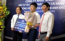 Thần đồng cờ vua Nguyễn Anh Khôi nhận gói tài trợ tiền tỉ