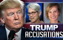 Ông Trump dọa kiện tất cả phụ nữ cáo buộc tấn công tình dục
