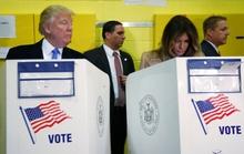 Hai nước Mỹ đi bỏ phiếu!
