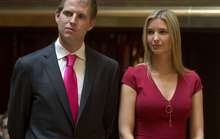 Hai con ông Trump không bỏ phiếu cho cha
