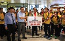 VFF thưởng tuyển futsal Việt Nam bằng 1/3 Thái Lan