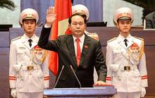 Tân Chủ tịch nước Trần Đại Quang tuyên thệ nhậm chức