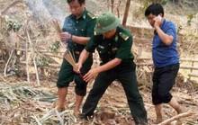 Hai thi thể không nguyên vẹn sau vụ lở núi kinh hoàng