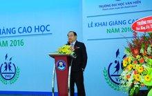 Trường ĐH Văn Hiến khai giảng cho 200 học viên cao học