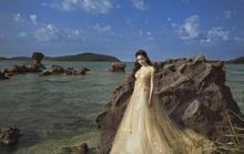 Hoa hậu Nguyễn Thị Huyền cực đẹp trong bộ ảnh váy