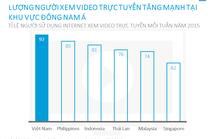 Người Việt Nam vô địch về xem video trực tuyến tại Đông Nam Á
