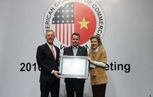 Visa nhận giải thưởng Cống hiến vì cộng đồng năm 2016