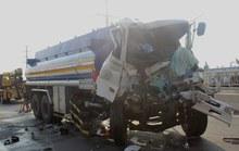 Tai nạn kinh hoàng trên đường dẫn vào cao tốc
