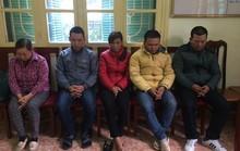 Tạm giữ 5 nghi phạm xin đểu người vi phạm giao thông