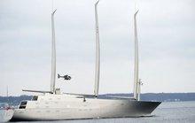 Tỉ phú Nga bị tịch thu siêu du thuyền vì thiếu nợ