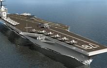 Mỹ thử nghiệm sốc: Đánh bom gần siêu tàu sân bay