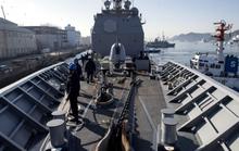 Tập trận, tàu hải quân Mỹ đụng tàu cá Hàn Quốc
