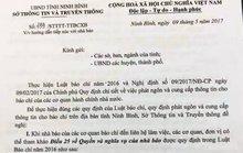 Ninh Bình thay thế văn bản chỉ làm việc với người có Thẻ nhà báo