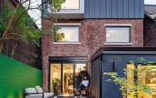 Một không gian hiện đại đến khó tin bên trong ngôi nhà tường gạch