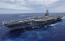 """Tàu sân bay Mỹ """"bắn cảnh cáo tàu Iran"""""""