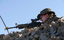 """""""Bóng hồng"""" đi vào lịch sử Thủy quân lục chiến Mỹ"""
