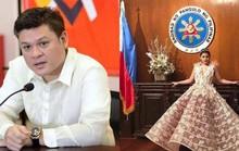 Cháu gái tổng thống Philippines bị cha mắng trên mạng