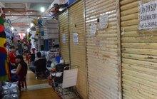 Chợ ế ẩm, xuống cấp: Eo hẹp kinh phí sửa chữa