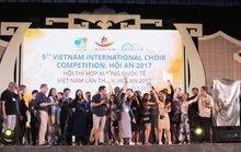 Philippines đoạt giải quán quân Hợp xướng quốc tế Hội An 2017